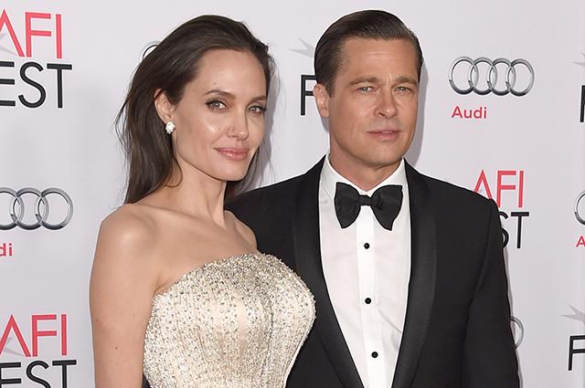 Анджелина джоли и брэд питт в разводе или нет
