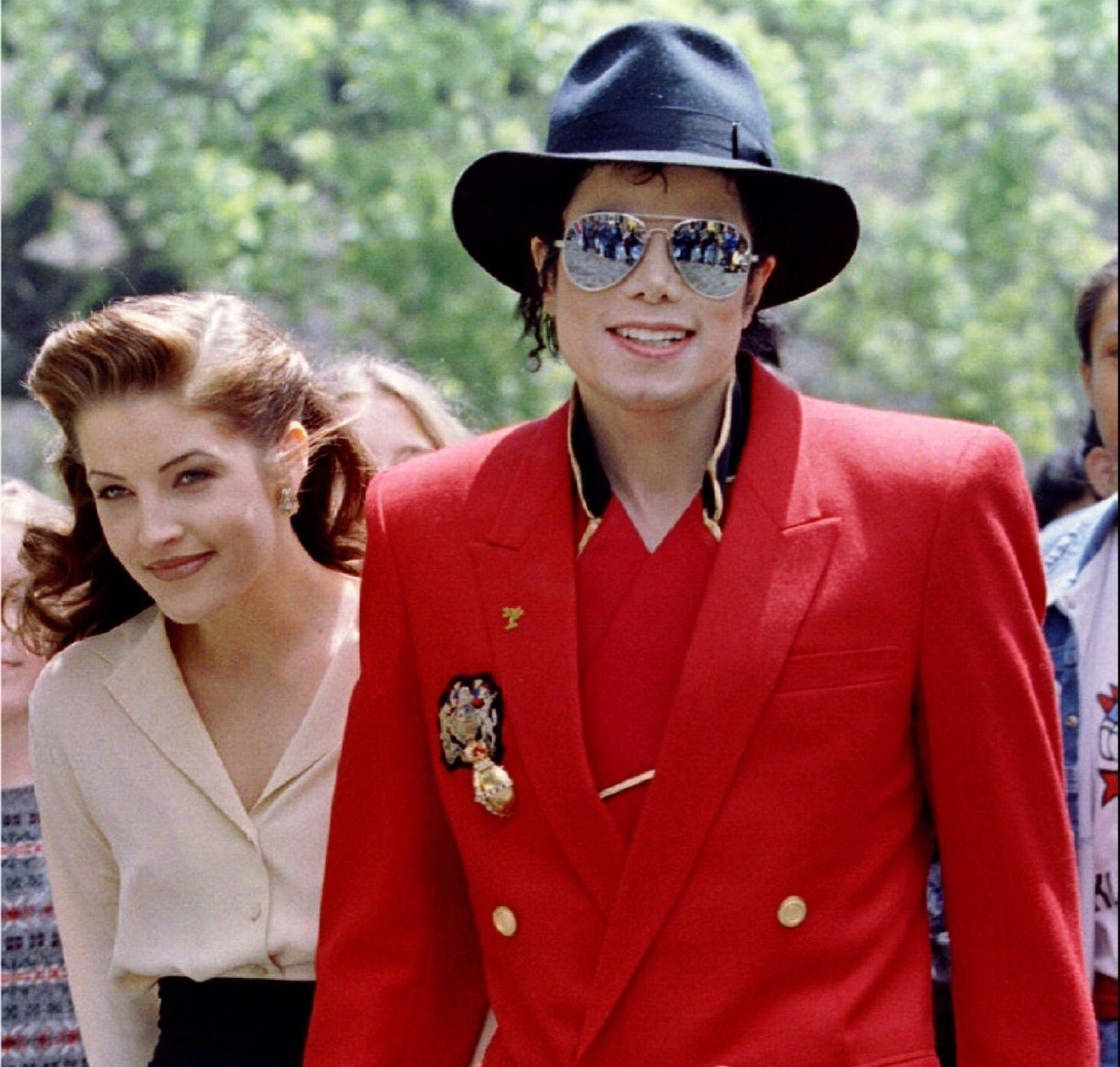 Lisa Marie was married to the King of Pop between 1994 and 1996