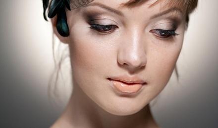 Коктейль макияж