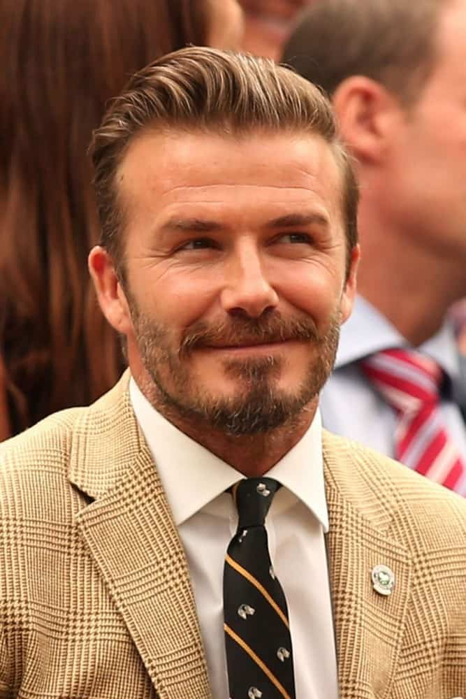 David beckham beard styles
