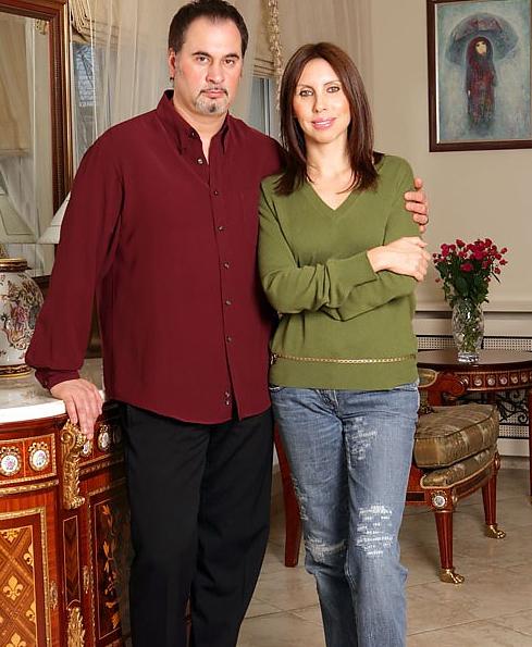 На фото: Валерий Меладзе с первой женой