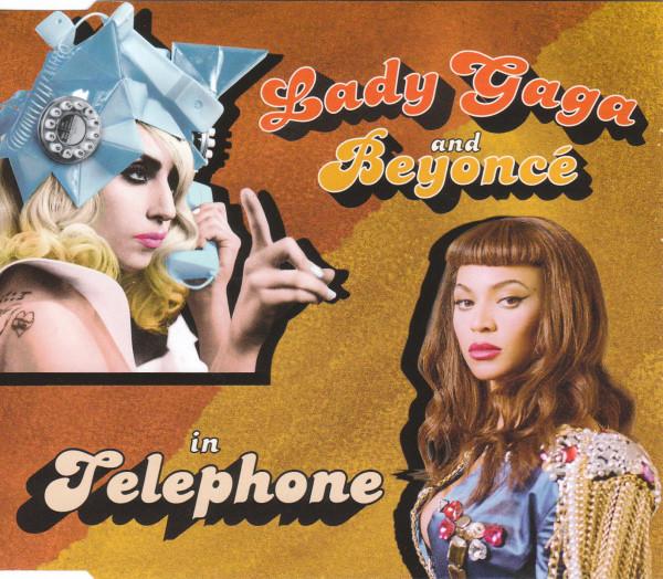 Lady gaga beyonce telephone poster