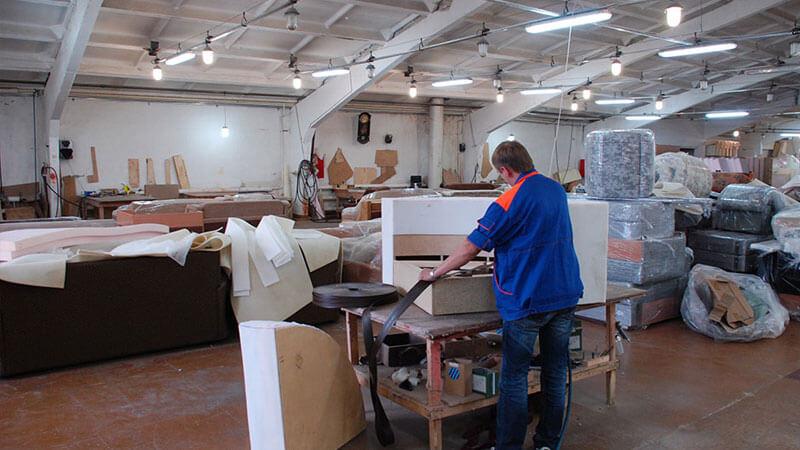 Оборудование для производствамягкой мебели