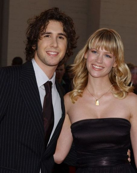Josh groban married january jones