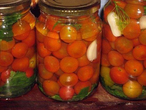 Вкусные помидоры черри на зиму