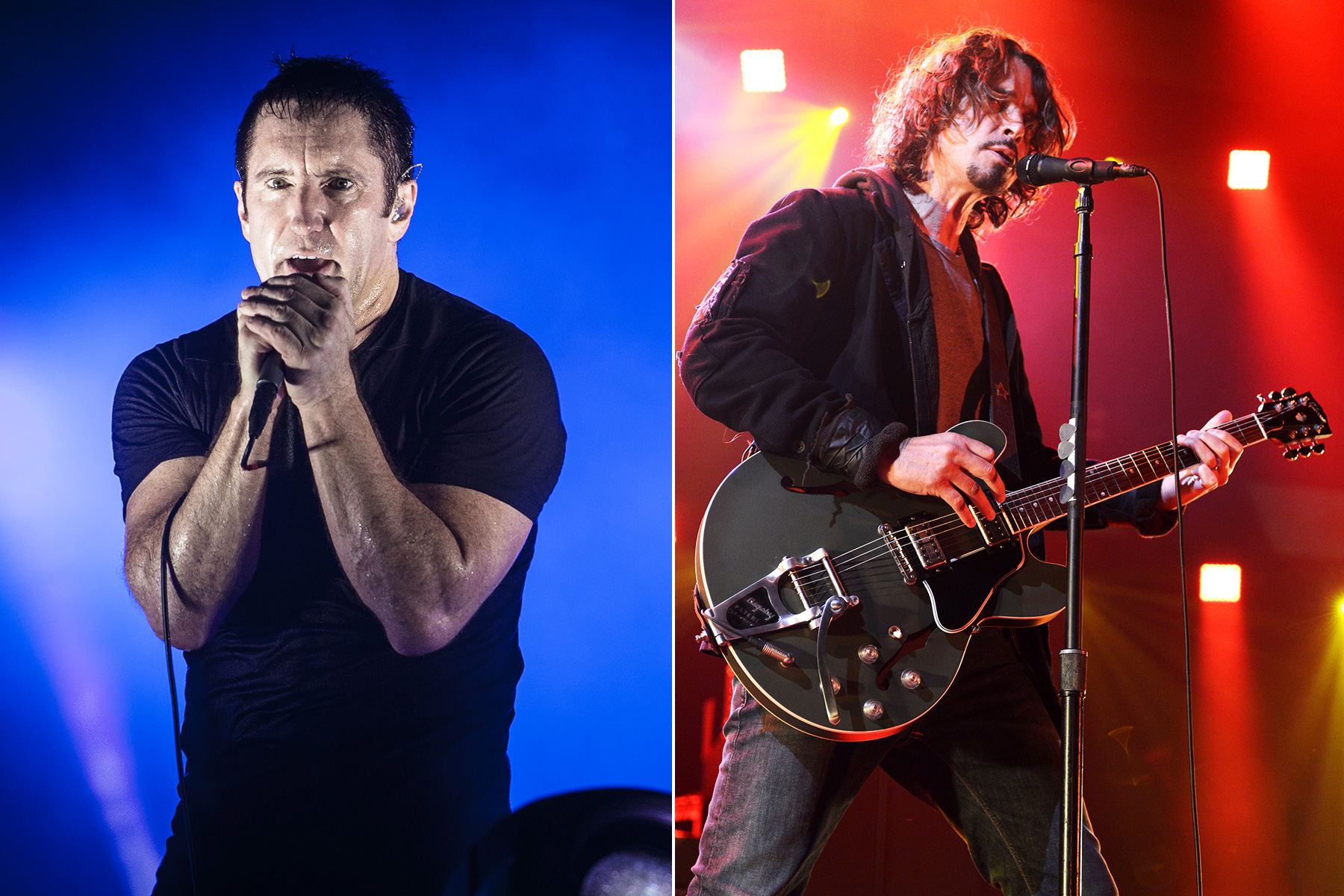 Nine inch nails tour with soundgarden