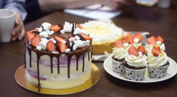 Учимся печь торты с нуля