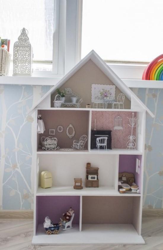 Кукольный домик из шкафа