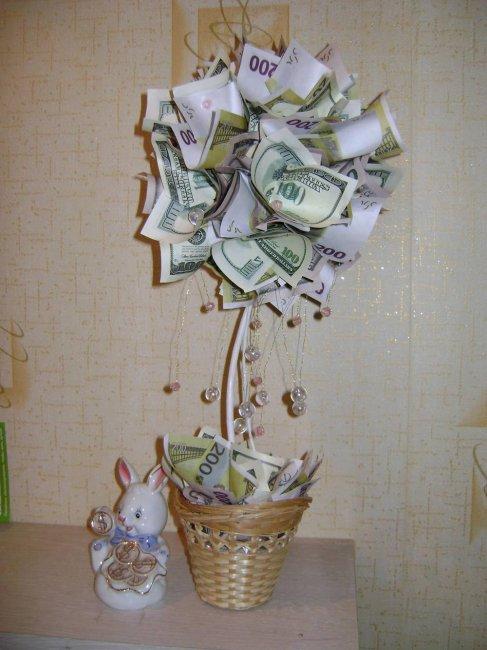 Букет-дерево на свадьбу