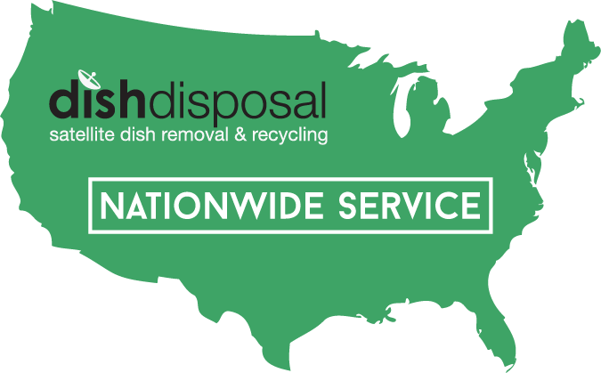 Nationwide Areas Serviced by Dish Disposal