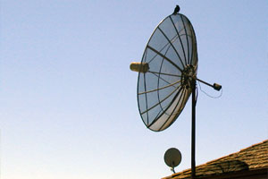 Large Satellite Dishes