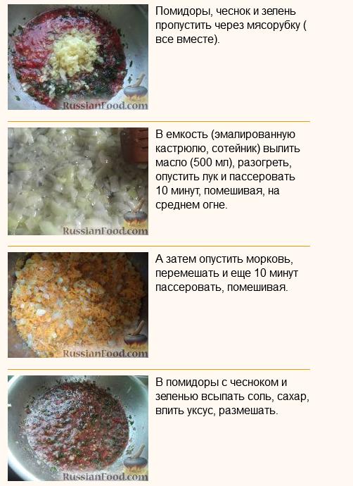 Кабачковая икра краснодарская рецепт