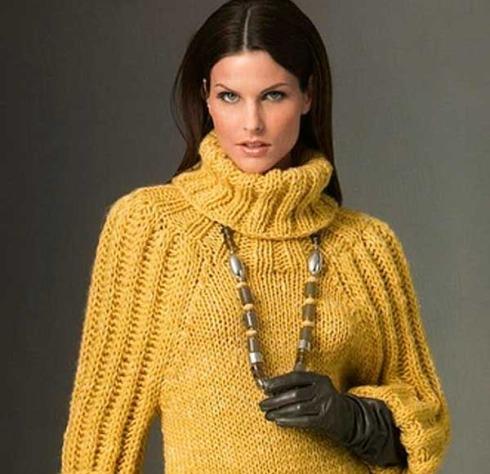 Вязание свитера сверху реглан без швов спицами