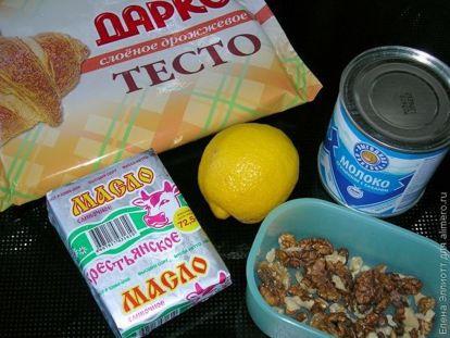 Рецепт слоеное тесто со сгущенкой рецепт