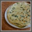 Сырные блинчики с петрушкой рецепт