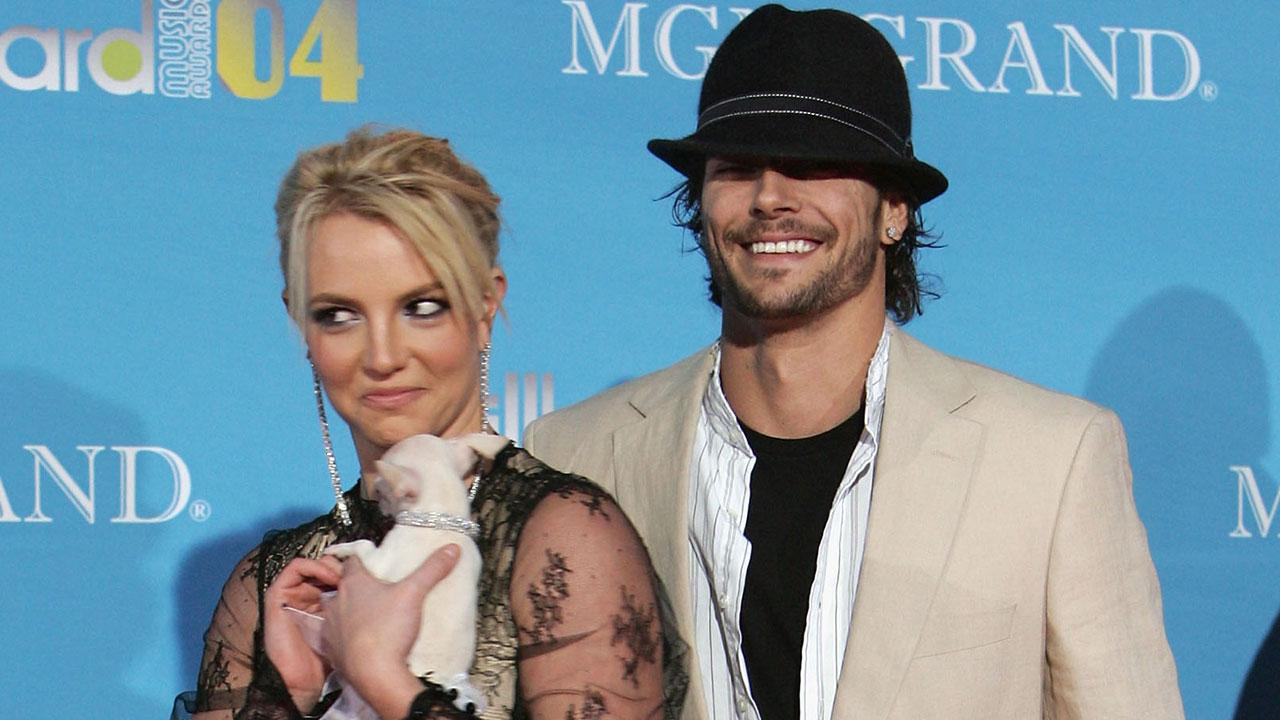 Britney spears and kevin break up