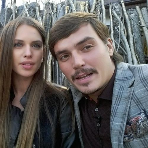 Саша Артёмова и Женя Кузин