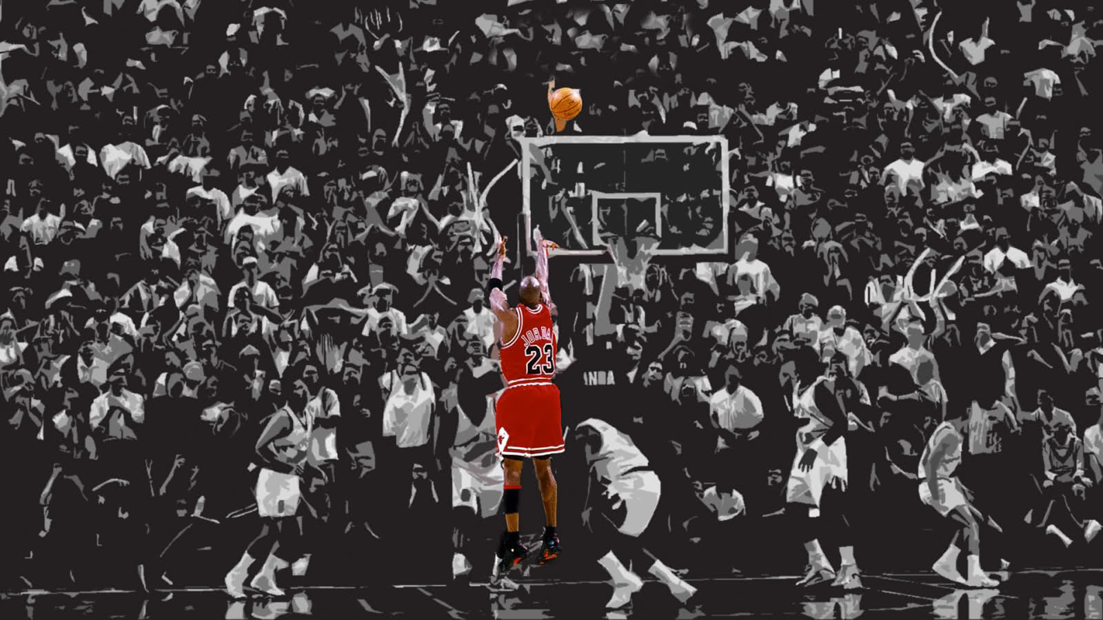 Michael Jordan Hd Wallpaper 22544 Wallpapers HD | colourinwallpaper.