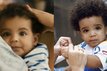 Blue ivy and drake baby pictures