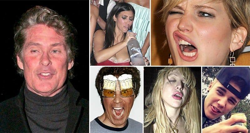 Pictures drunk celebrities