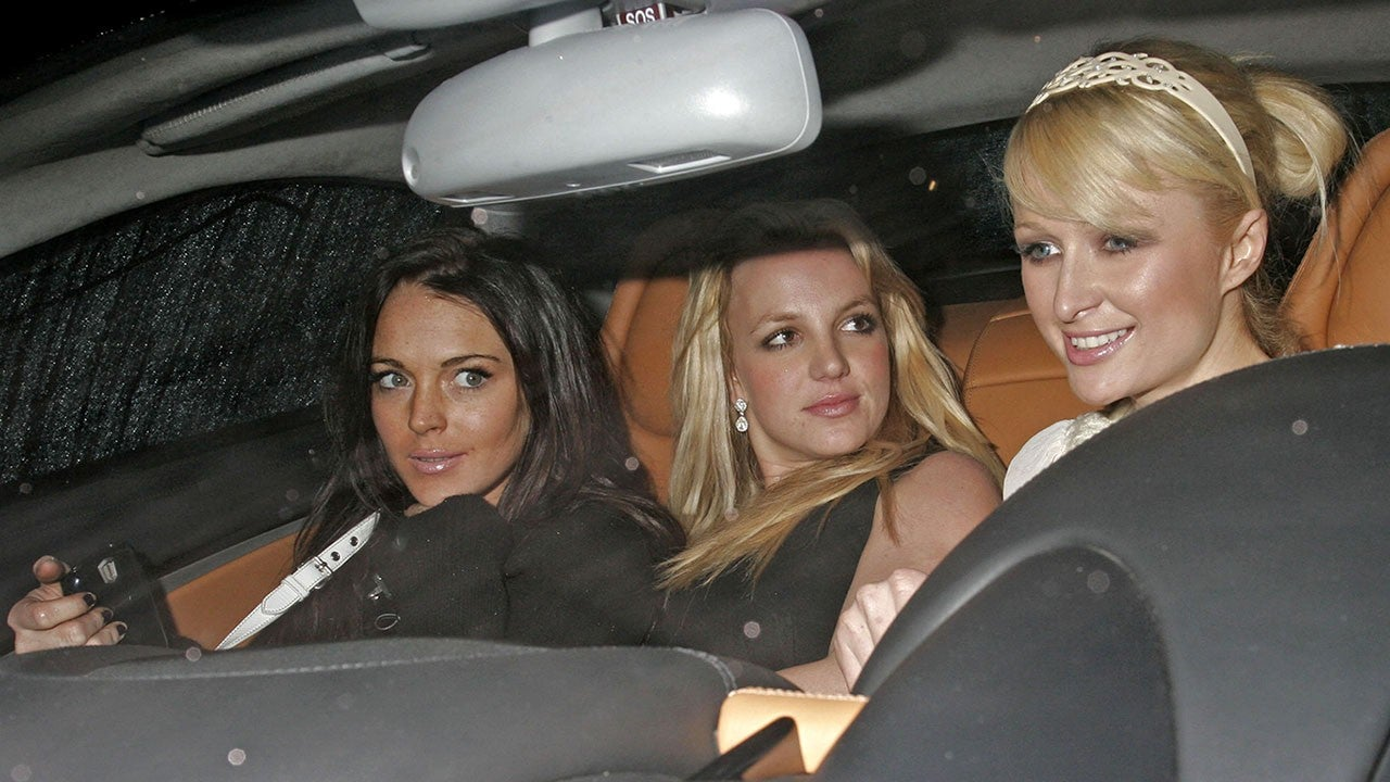 Britney spears-paris hilton photos