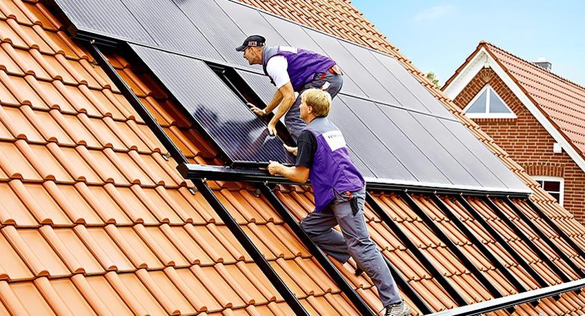 Компания по установке солнечных батарей