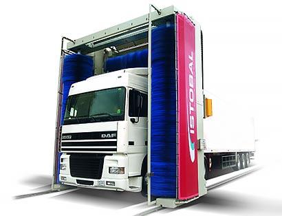 Оборудование для мойки грузовых автомобилей