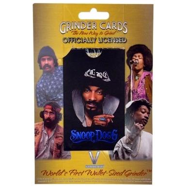 Snoop dogg grinder card
