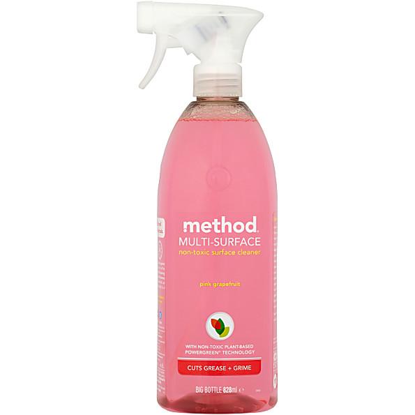 Method all purpose cleaner pink grapefruit