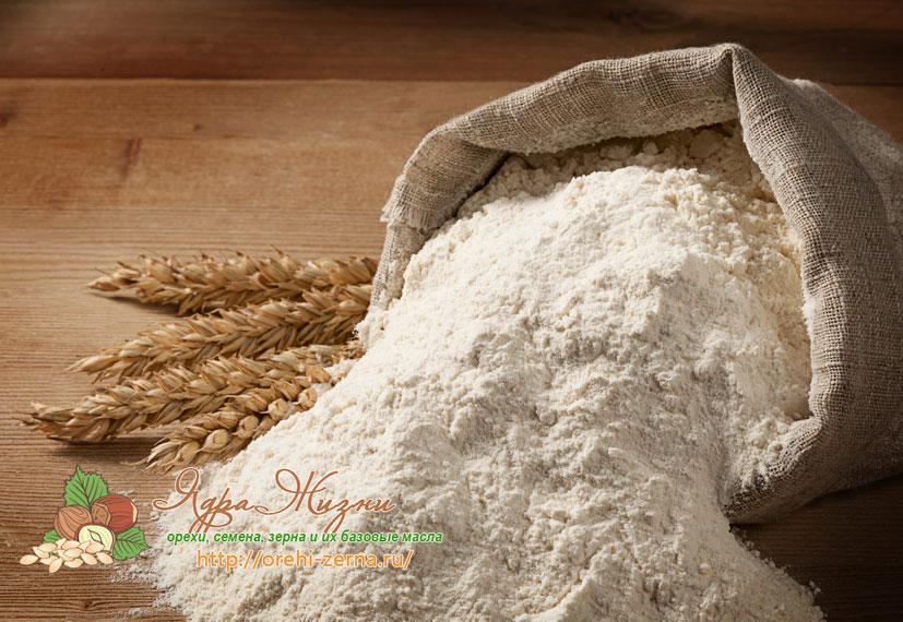 Как делают муку из пшеницы