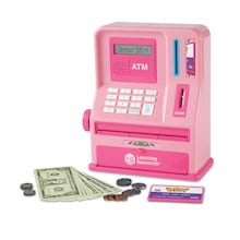 Atm bank pink