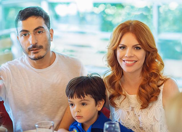 Анастасия стоцкая и ее муж и сын фото 2016