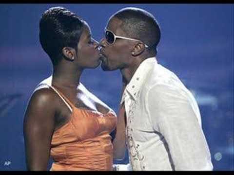 Fantasia kissing jamie foxx