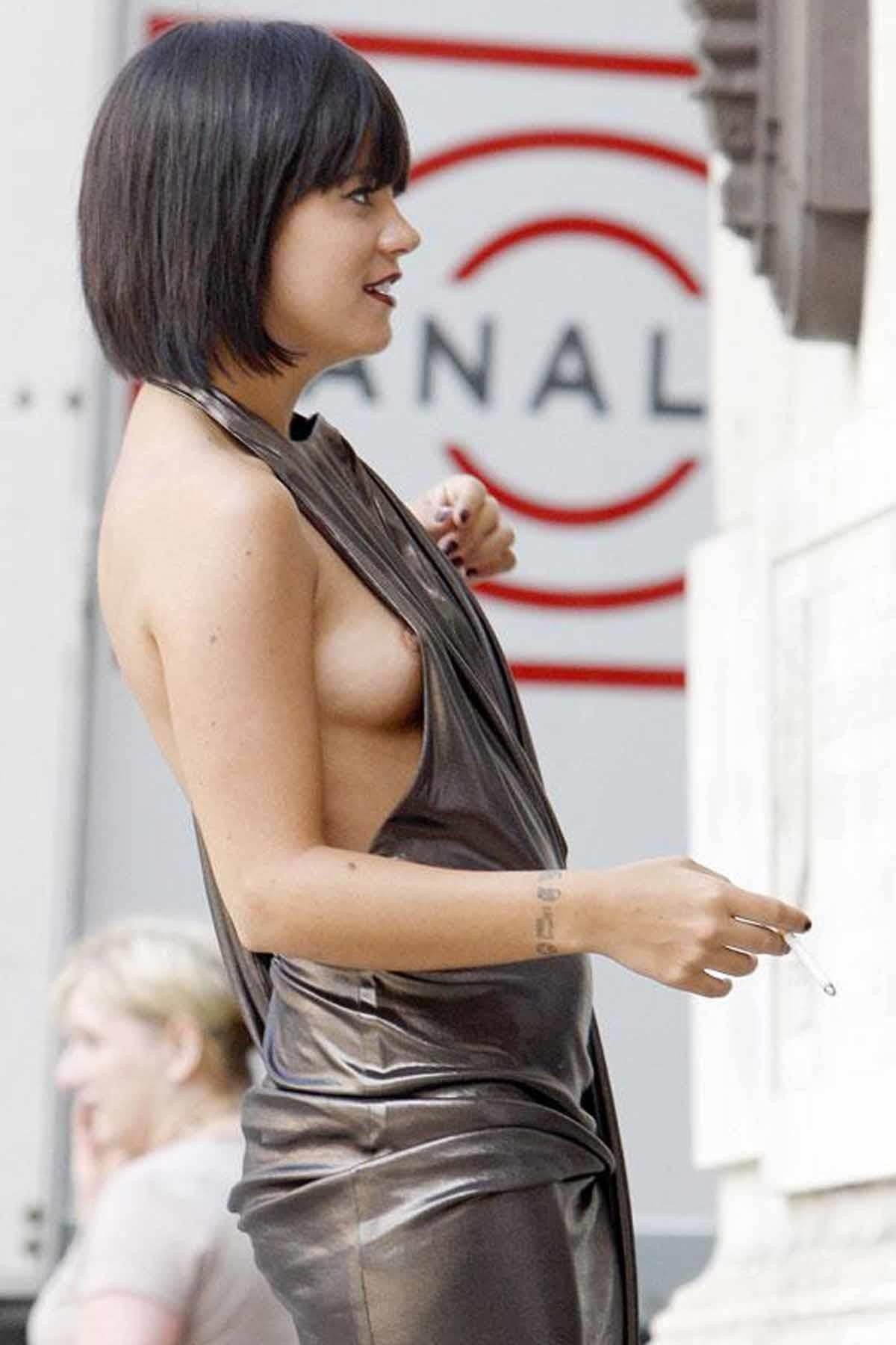 Sexy Lily Allen Nude Paparazzi