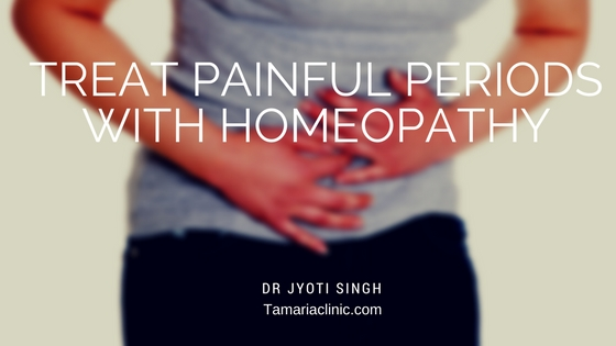 How to treat Dysmenorrhoea with Homeopathy?