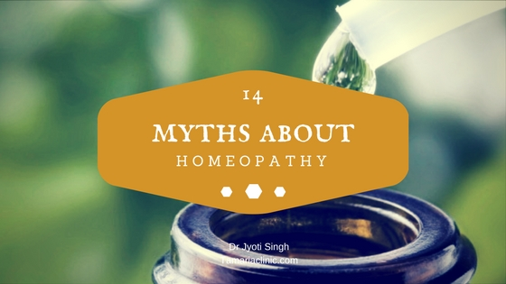 14 myths about homeopathy which you should know!
