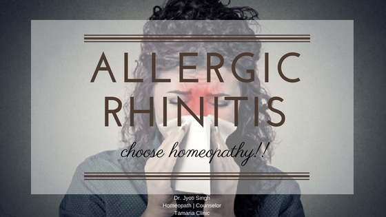HOMEOPATHY & ALLERGIC RHINITIS!!