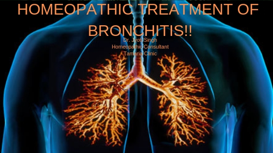 HOMEOPATHIC TREATMENT OF BRONCHITIS!!
