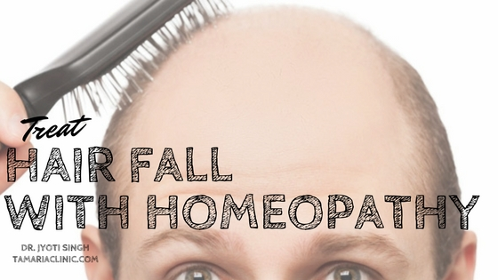 TREAT HAIRFALL WITH HOMEOPATHY