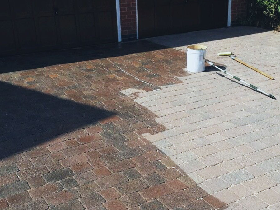 Sealer patio