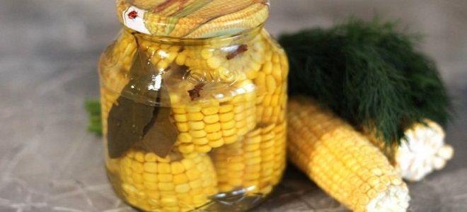 маринованная кукуруза в домашних условиях на зиму