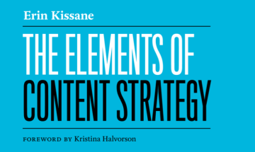 Elements of Content Strategy by Erin Kissane