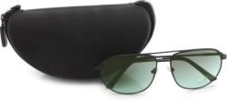 Fastrack Rectangular Sunglasses (Green)