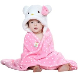 Ole Baby Plain Single Blanket Pink (1 Ole Baby Hooded Mink Blanket)