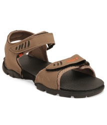 Sparx Brown Floater Sandals Art SS101CAM