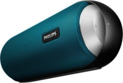 Philips BT6000A/12 Portable Bluetooth Mobile/Tablet Speaker (Blue & Black, Stereo Channel)