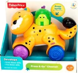 Fisher-Price Press & Go Cheetah (Yellow)
