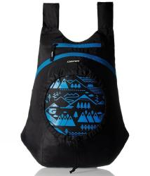 Gear Black and Blue Small Backpack