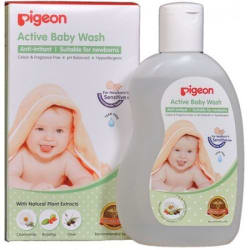 Pigeon Active Baby Wash 200ml