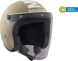 Royal Enfield CLASSIC JET MLG Motorbike Helmet (Battle Green)